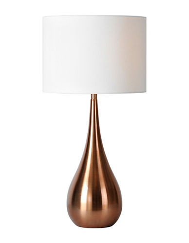 Ren-Wil Pandora Table Lamp-COPPER/WHITE-One Size