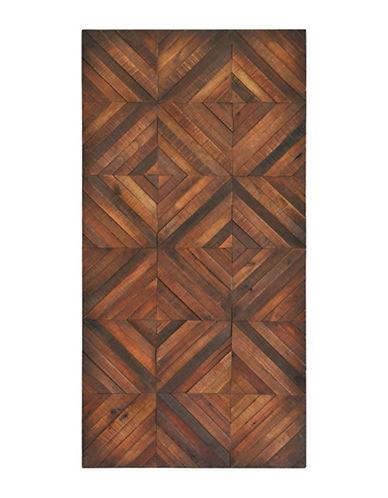 Ren-Wil Chevron Stripes Wall Art-BROWN-One Size