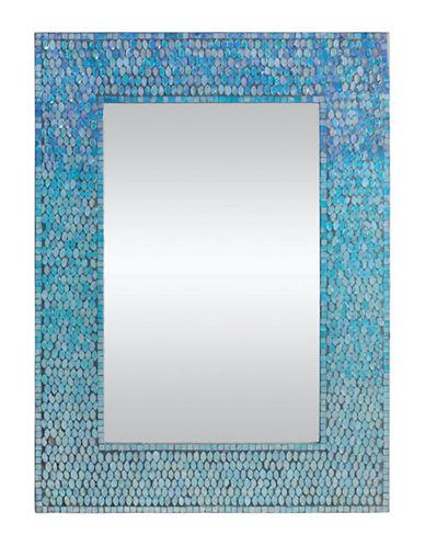 Ren-Wil Catarina Wooden Mirror-MOSAIC-One Size