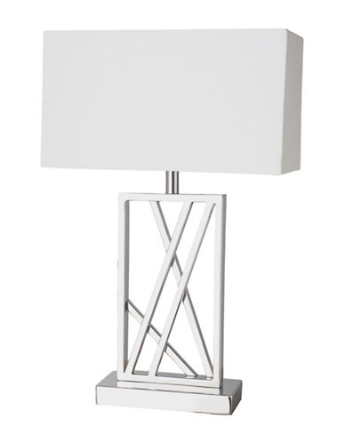 Ren-Wil Chatterly II Table Lamp-CHROME-One Size