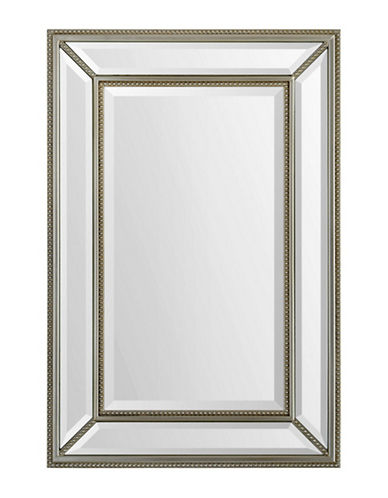 Ren-Wil Mia Wooden Mirror-GOLD-One Size