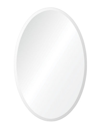 Ren-Wil Frances Oval Mirror-ALL GLASS-One Size