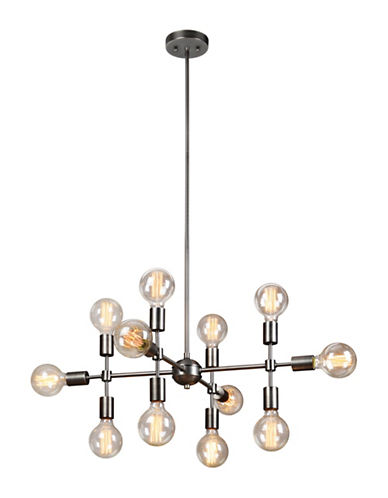 Ren-Wil Enzo Chandelier-MATTE GREY-One Size