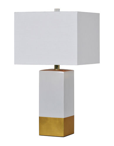 Ren-Wil Le Smoking Table Lamp-GOLD-One Size