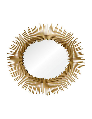 Ren-Wil Orwell Oval Mirror-GOLD LEAF-One Size