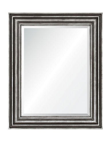 Ren-Wil Tapley Wooden Mirror-GREY ZINC-One Size