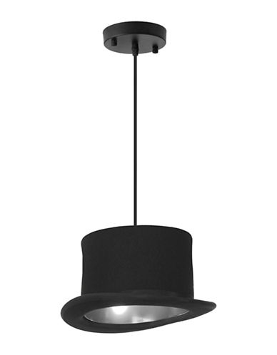 Ren-Wil Langley Ceiling Lamp-BLACK-One Size