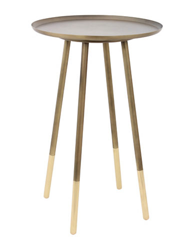 Ren-Wil Pawn Accent Table-BRASS-One Size