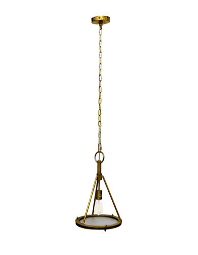 Ren-Wil Coney Ceiling Pendant Light-BRASS-One Size