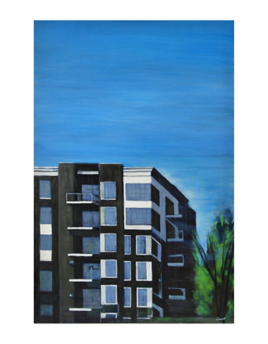 Ren-Wil New Suburban Wall Art-BLUE MULTI-One Size