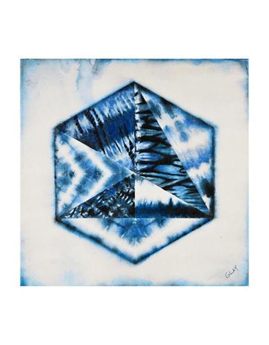 Ren-Wil Snowlight Spectral Wall Art-BLUE-One Size