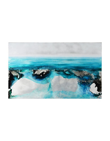 Ren-Wil Tofino Ocean Canvas Wall Art-BLUE-One Size