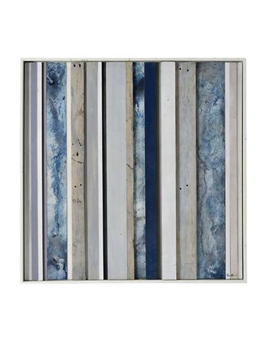 Ren-Wil Slatted Sky Mixed Media Wall Art-BLUE MULTI-One Size