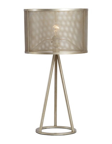 Ren-Wil Bisca Table Lamp-SILVER LEAF-One Size