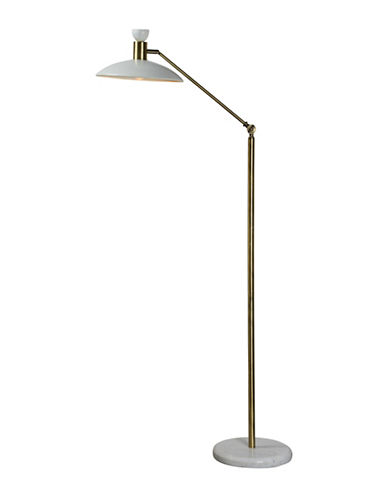 Ren-Wil Troilus Floor Lamp-POLISHED BRASS-One Size
