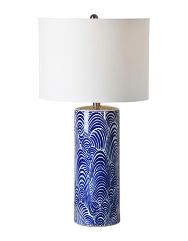 Ren-Wil Stafford Table Lamp-BLUE/WHITE-One Size