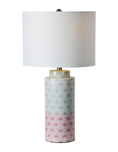 Ren-Wil Baltimore Table Lamp-GREEN/PINK-One Size