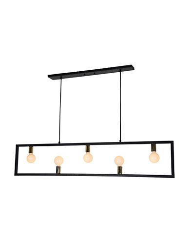 Ren-Wil Vera Ceiling Light-MATTE BLACK-One Size