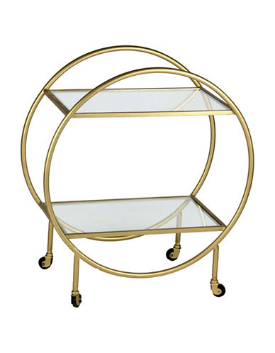 Ren-Wil Bass Accent Table-GOLD-One Size
