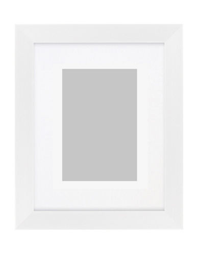 Distinctly Home Matted Photo Frame 4x6-WHITE-One Size