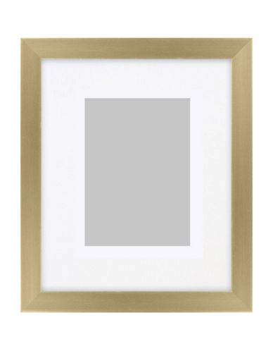 Distinctly Home Matted Photo Frame 5x7-GOLD-One Size