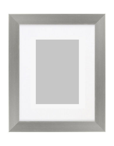 Distinctly Home Silvertone Photo Frame 4x6-SILVER-One Size
