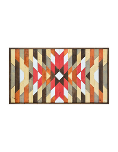 Ren-Wil Here Crisscross Wool Wall Art-MULTI-One Size