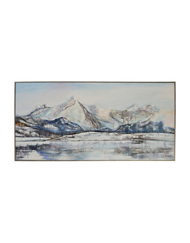 Ren-Wil Foraker Icy Landscape Canvas Wall Art-MULTI-One Size
