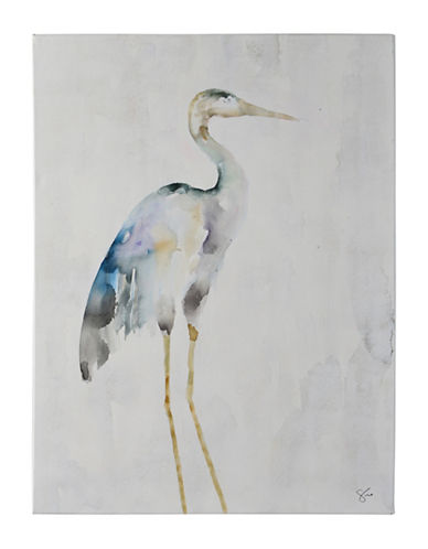 Ren-Wil Demoiselle Crane Canvas Wall Art-BLUE/GREY-One Size