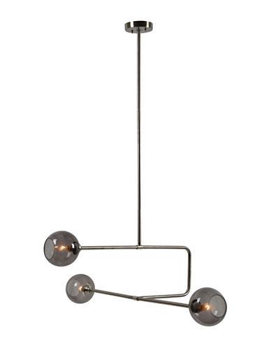 Ren-Wil Barnet Multi-Light Ceiling Pendant-NICKEL-One Size