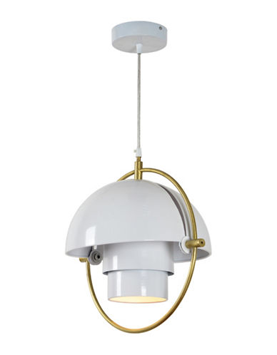 Ren-Wil Lantern Ceiling Pendant Light-WHITE-One Size