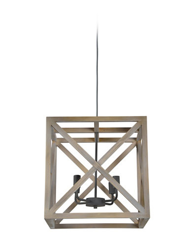Ren-Wil Crate Ceiling Pendant Light-GREY-One Size