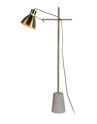 Ren-Wil Harrow Floor Lamp-CEMENT-One Size