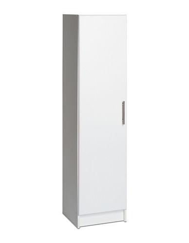 Prepac Elite Broom Cabinet-WHITE-One Size