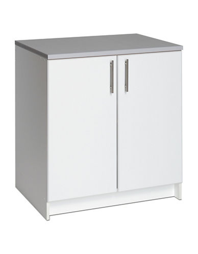 Prepac Elite Base Cabinet-WHITE-One Size