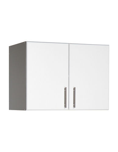 Prepac Elite Stackable Double Wall Cabinet-WHITE-One Size