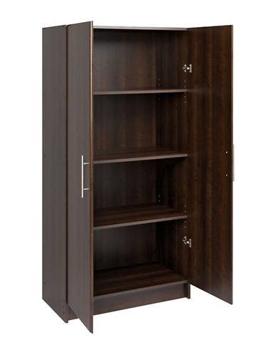 Prepac Elite Storage Cabinet-ESPRESSO-One Size