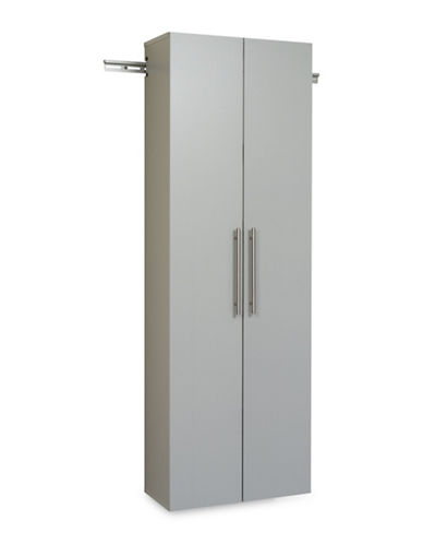 Prepac HangUps 24-Inch Large Storage Cabinet-LIGHT GREY-One Size