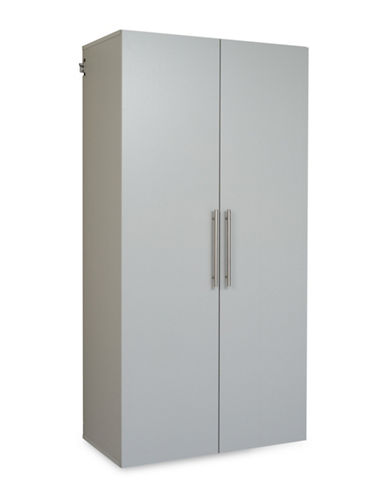 Prepac HangUps 36-Inch Large Storage Cabinet-LIGHT GREY-One Size