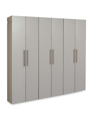 Prepac HangUps Three-Piece 72-Inch Storage Set-LIGHT GREY-One Size