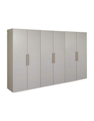 Prepac HangUps Three-Piece 108-Inch Storage Set-LIGHT GREY-One Size