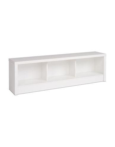 Prepac Calla Storage Bench-WHITE-One Size
