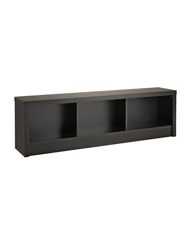 Prepac Series 9 Designer Storage Bench-BLACK-One Size