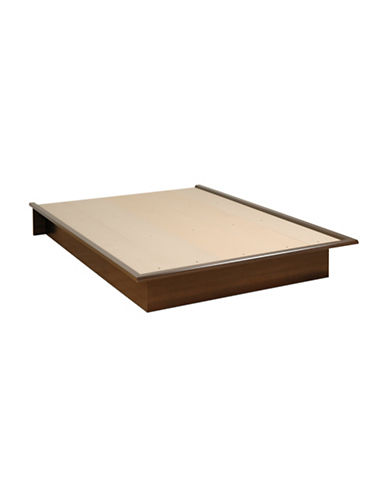 Prepac Full Platform Bed-ESPRESSO-One Size