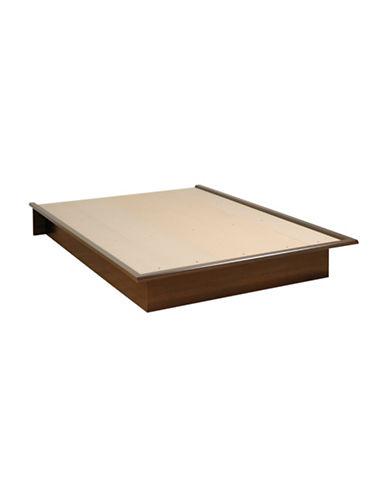 Prepac Queen Platform Bed-ESPRESSO-One Size