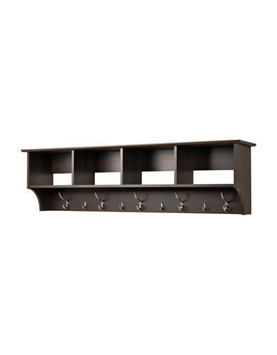 Prepac Wide Hanging Entryway Shelf-ESPRESSO-One Size