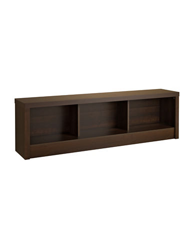 Prepac Series 9 Designer Storage Bench-ESPRESSO-One Size