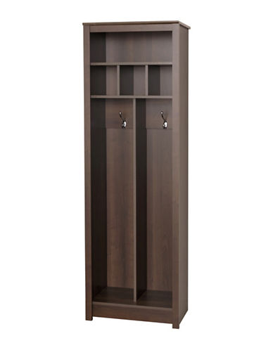 Prepac Space-Saving Entryway Organizer-ESPRESSO-One Size