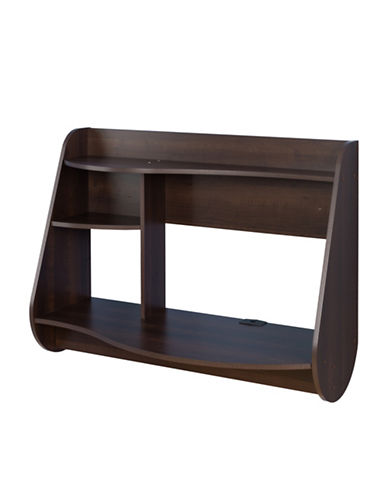 Prepac Kurv Floating Desk-ESPRESSO-One Size