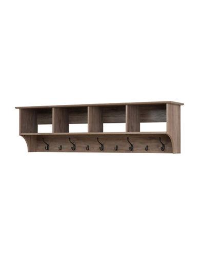 Prepac Wide Hanging Entryway Shelf-DRIFTED GREY-One Size